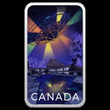 2021 $20 FINE SILVER COIN  CANADA'S UNEXPLAINED PHENOMENA: THE MONTRÉAL INCIDENT