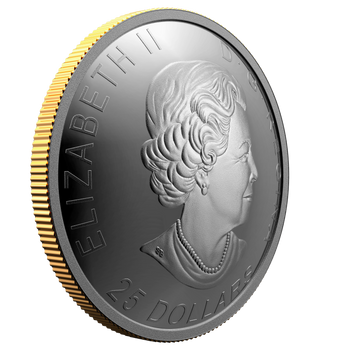 2021 $25 FINE SILVER COIN – 125TH ANNIVERSARY OF THE KLONDIKE GOLD RUSH: PANNING FOR GOLD
