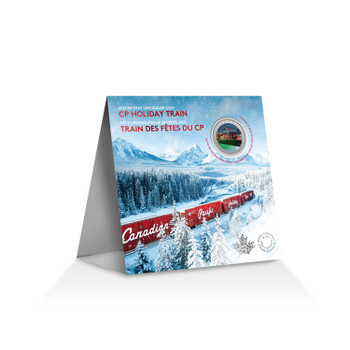 2022 50-CENT LENTICULAR COIN CP HOLIDAY TRAIN