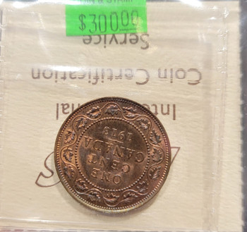 1913 CANADA CIRCULATION 1 CENT MS-64 - RED