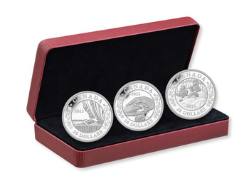 2013 $20 FINE SILVER 3-COIN SET: BIRTH OF THE ROYAL INFANT