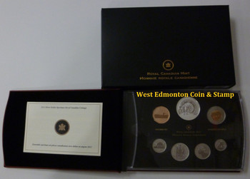 2013 7-COIN SILVER DOLLAR SPECIMEN SET - 100TH ANNIVERSARY OF THE CANADIAN ARCTIC EXPEDITION