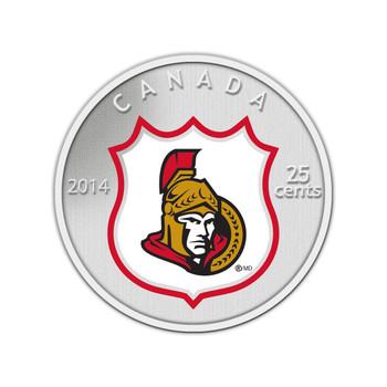 2014 25-CENT NHL COIN AND STAMP GIFT SET OTTAWA SENATORS