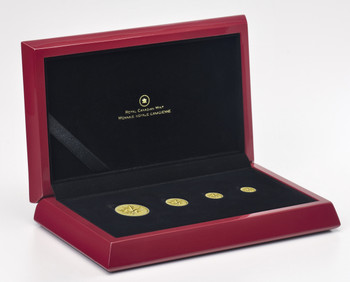2014 PURE GOLD FRACTIONAL SET THE MAPLE LEAF