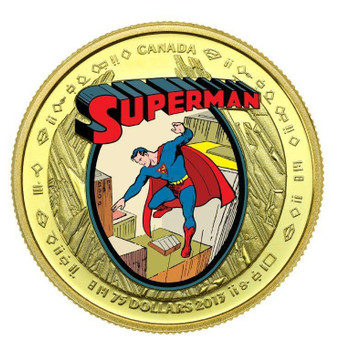 2013 $75 14KT GOLD COIN - 75TH ANNIVERSARY OF SUPERMAN™ - THE EARLY YEARS