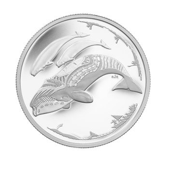 2013 $3 FINE SILVER COIN - ARCTIC EXPEDITION - LIFE IN THE NORTH