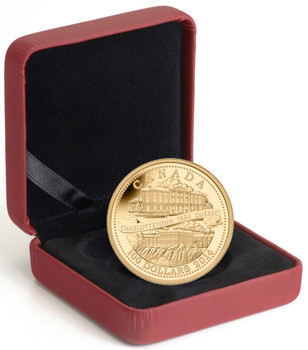2014 $100 14 KARAT GOLD COIN - 150TH ANNIVERSARY OF THE QUEBEC AND CHARLOTTETOWN CONFERENCES