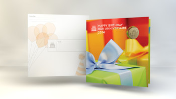 2014 BIRTHDAY - COIN - GIFT SET - SPECIAL EDITION LOONIE