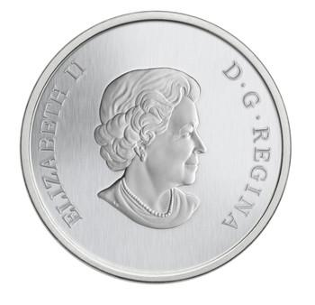2014 25-CENT COLOURED COIN EASTERN MEADOWLARK