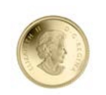 2014 50-CENT PURE GOLD COIN OSPREY