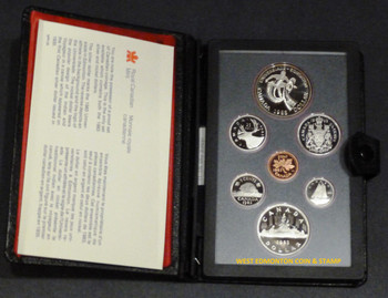 1983 PROOF DOUBLE DOLLAR SET