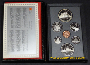 1987 PROOF DOUBLE DOLLAR SET