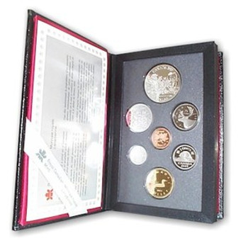 1989 PROOF DOUBLE DOLLAR SET