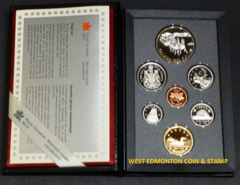 1992 PROOF DOUBLE DOLLAR SET