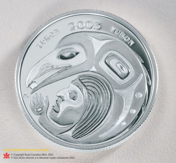 2003 50 CENT STERLING SILVER COIN - FESTIVALS OF CANADA - INTERNATIONAL STORYTELLING FESTIVAL - QUANTITY SOLD: 2003