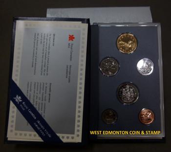1995 6-COIN SPECIMEN SET