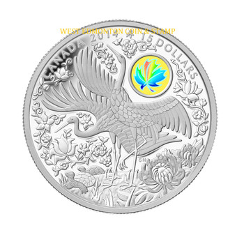 2014 $15 FINE SILVER COIN MAPLE OF LONGEVITY