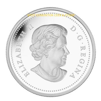 2014 $20 FINE SILVER COIN - RIVER RAPIDS