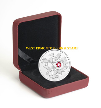 2013 $3 FINE SILVER COIN - HUMMINGBIRD AND MORNING GLORY FLOWER - QUANTITY SOLD: 7262
