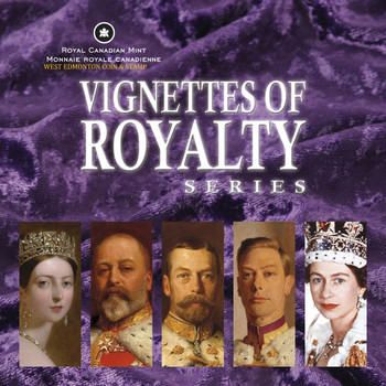 2008 VIGNETTES OF ROYALTY SERIES - KING EDWARD VII - QUANTITY SOLD: 6,261