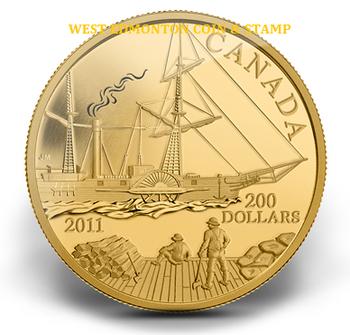 2011 $200 22-KARAT GOLD COIN - S.S. BEAVER