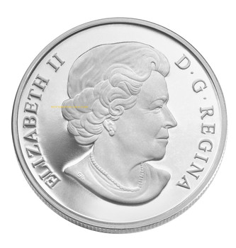 2010 $10 FINE SILVER COIN - 75TH ANNIVERSARY OF THE FIRST BANK NOTES ISSUED BY THE BANK OF CANADA