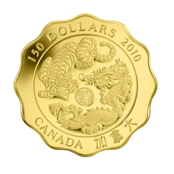 2010 $150 PURE GOLD COIN - BLESSINGS OF STRENGTH