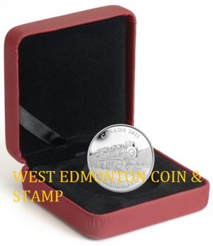 2011 $20 FINE SILVER COIN - GREAT CANADIAN LOCOMOTIVES SERIES: D-10