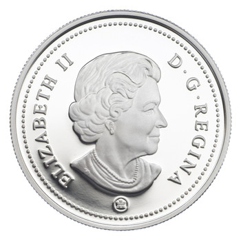 2007 PROOF COMMEMORATIVE SILVER DOLLAR WITH ENAMEL-EFFECT - JOSEPH BRANT (THAYENDANEGEA)