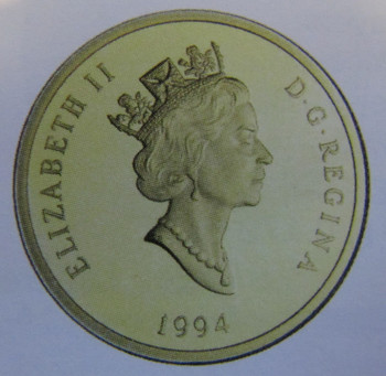 1994 14KT $100 GOLD COIN - THE HOME FRONT
