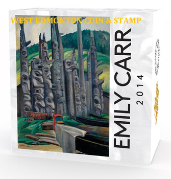 2014 $20 FINE SILVER COIN CELEBRATING EMILY CARR