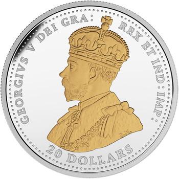 加拿大镍分钱币的精制银币