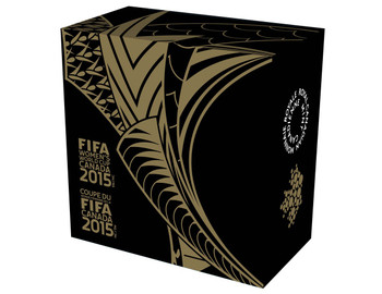 2015 $75 PURE GOLD COIN FIFA WOMEN'S WORLD CUP™ - THE SOCCER BALL (1/40z. GOLD)