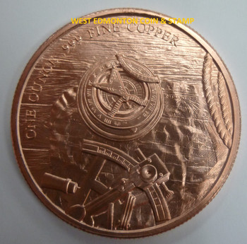 PROSPECTOR 1 OZ. COPPER ROUND