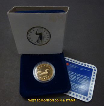 1987 PROOF LOONIE - COMMEMORATES THE FIRST CANADIAN DOLLAR
