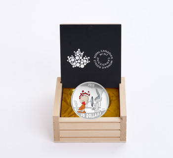 2015 $30 FINE SILVER COIN LOONEY TUNES™ CLASSIC SCENES - THE RABBIT OF SEVILLE