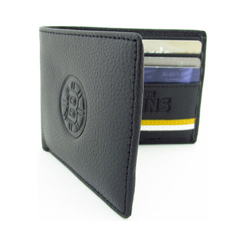 BOSTON BRUINS - GENUINE LEATHER WALLET