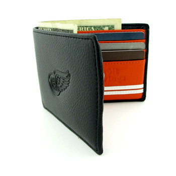 DETROIT RED WINGS - GENUINE LEATHER WALLET