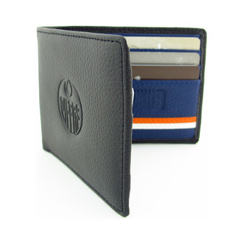EDMONTON OILERS - GENUINE LEATHER WALLET