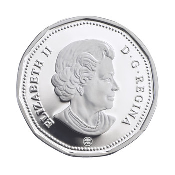 2008 SILVER OLYMPIC LUCKY LOONIE