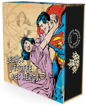 2015 $10 FINE SILVER COIN DC COMICS™ ORIGINALS: LEGACY