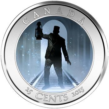 2015 25-CENT COIN HAUNTED CANADA: BRAKEMAN