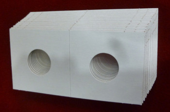 CARDBOARD 2x2 COIN HOLDER - 20 PACK - CENT OR DIME SIZE