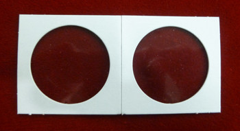CARDBOARD 2x2 COIN HOLDER - 100 PACK - SILVER DOLLAR SIZE