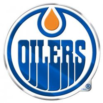 NHL EDMONTON OILERS AUTOMOTIVE TEAM LOGO EMBLEM