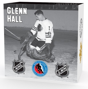 2015 $10 FINE SILVER COIN -  ORIGINAL SIX™ GOALIES - GLENN HALL