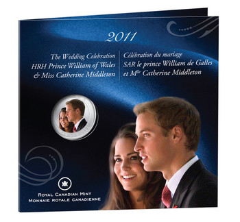 2011 25-CENT - WEDDING CELEBRATION - PRINCE WILLIAM & CATHERINE MIDDLETON