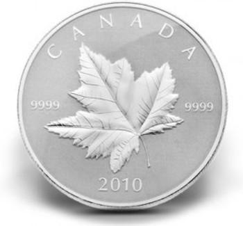 2010 PIEDFORT 1OZ. PURE SILVER $5 COIN