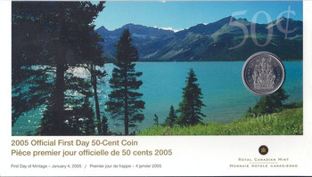 2005 50-CENT FIRST DAY COVER