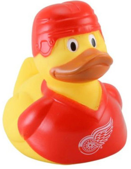 DETROIT RED WINGS NHL HOCKEY BATHTUB RUBBER DUCK